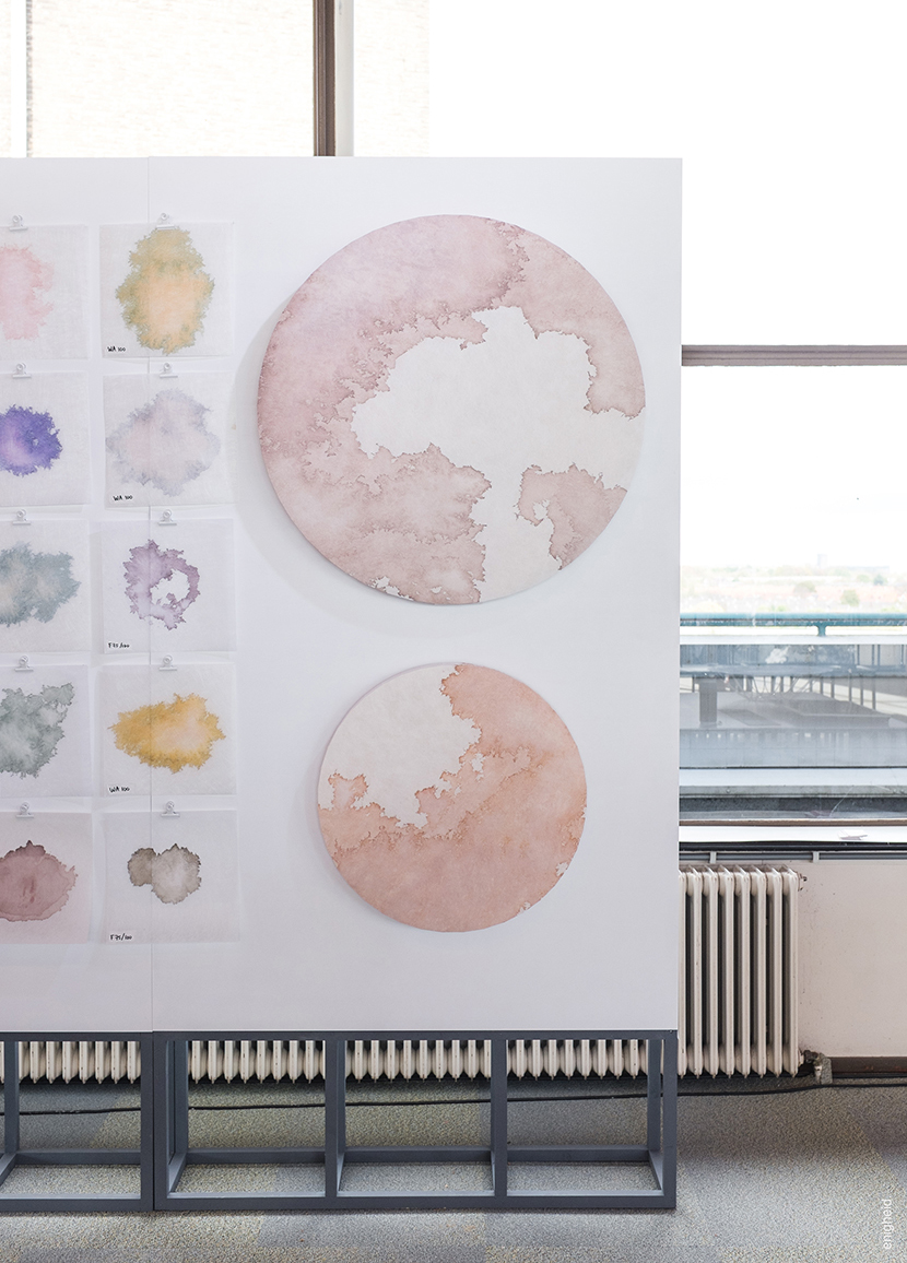 mieke van den hout - studio mieke lucia - acoustic panels - colour research