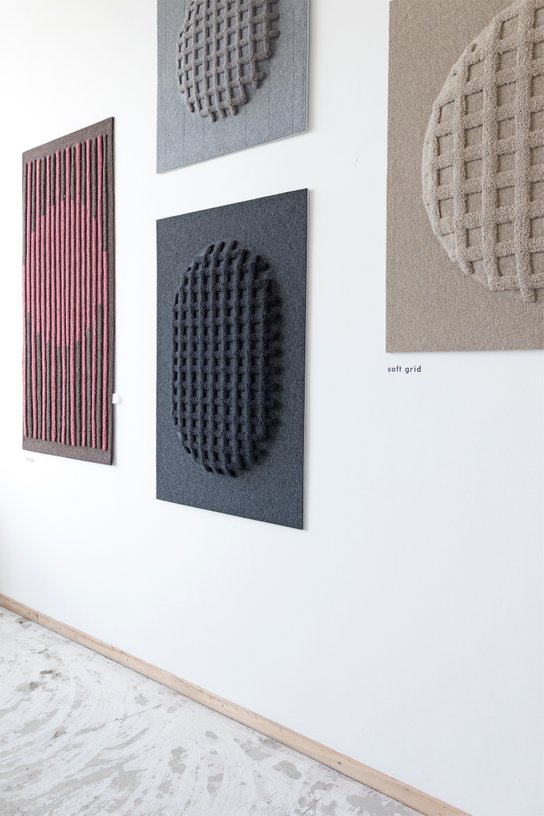 Textility - Mieke Lucia - Wall pieces - Textile design