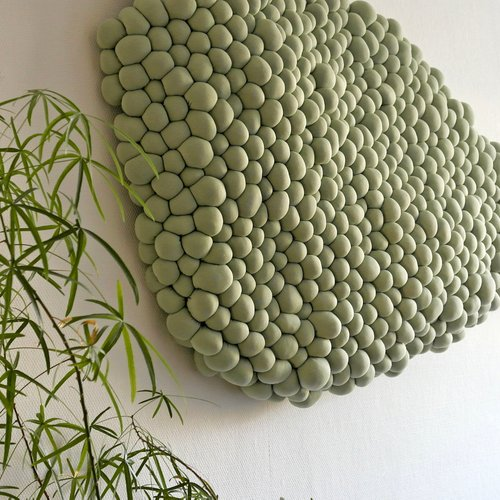 Growing Textiles Wolwerken Acoustic Wallpiece